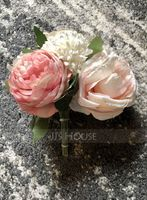 Hand-tied Silk Flower/Plastic Decorations (Sold in a single piece) - (123224823)