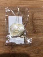 Free-Form Satin Boutonniere (Sold in a single piece) - (123130428)