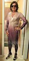 Polyester With Sequins Midi Dress (199237522)
