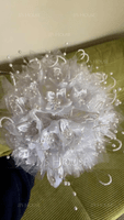 Round Satin/PE Bridal Bouquets (Sold in a bunch) - (123138132)