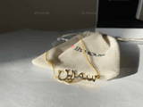 Custom 18k Gold Plated Silver Name Necklace Arabic Necklace - Birthday Gifts (288219230)