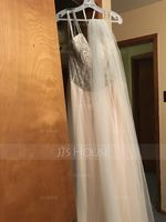 One-tier Cut Edge Chapel Bridal Veils (006114049)