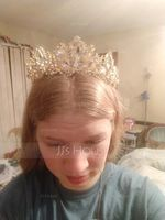 Beautiful Rhinestone/Alloy Tiaras With Rhinestone (042123424)
