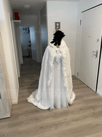 Faux Fur Wedding Shawl (013219828)