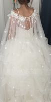 Lace Tulle Wedding Wrap (013115749)