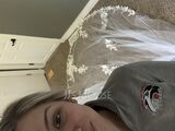 One-tier Lace Applique Edge Cathedral Bridal Veils With Lace (006227446)