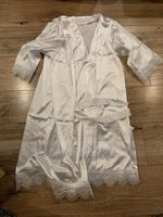 Personalized Charmeuse Bride Bridesmaid Mom Junior Bridesmaid Lace Robes (248220064)