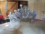 Ladies Gorgeous Rhinestone/Alloy Tiaras With Rhinestone (042121308)