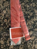 JJ's House Satin Wide Tie