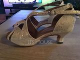 Women's Leatherette Sandals Latin Dance Shoes (053095141)
