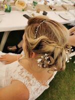 Ladies Glamourous Alloy Tiaras With Rhinestone (Sold in single piece) (042168294)