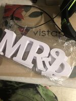 "PVC ""Mr. & Mrs."" Decorazioni matrimonio (131087076)"