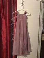 A-Line/Princess Square Neckline Floor-Length Chiffon Junior Bridesmaid Dress With Ruffle (268182355)