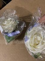 Satin/Silk Wrist Corsage (Sold in a single piece) - (123165266)