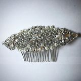 Ladies Beautiful Rhinestone/Alloy/Imitation Pearls Combs & Barrettes With Rhinestone/Venetian Pearl (042138716)