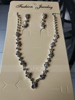 Elegant Alloy/Copper With Rhinestone Ladies' Jewelry Sets (011171320)