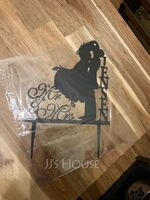 """Personalized """"Mr. & Mrs.""""/Happy Couple Acrylic Cake Topper (118251111)"""