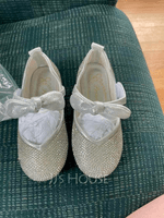 Girl's Round Toe Closed Toe Leatherette Flower Girl Shoes With Bowknot (207200938)