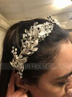 Ladies Glamourous Rhinestone/Copper Headbands (Sold in single piece) (042227042)