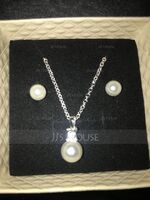 Elegant Imitation Pearls Ladies' Jewelry Sets (011124397)