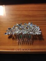 Ladies Beautiful Alloy Combs & Barrettes With Rhinestone (Sold in single piece) (042155816)