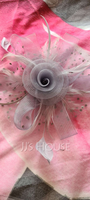 Ladies' Eye-catching/Charming/Romantic Feather/Net Yarn With Feather Fascinators/Kentucky Derby Hats (196200204)