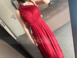 V-Neck Sleeveless Maxi Dresses (293250219)
