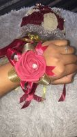 Satin Bridal Bouquets/Bridesmaid Bouquets - (123118200)