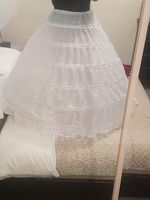 Women Polyester 1 Tiers Petticoats (037120409)