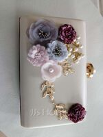 Unique PU With Flower/Imitation Pearl Clutches (012192161)