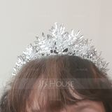 Ladies Pretty Rhinestone/Alloy Tiaras With Rhinestone (Sold in single piece) (042172299)