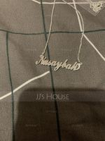 Bridesmaid Gifts - Personalized Fascinating Copper Name Necklace (256215313)