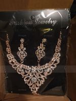 Beautiful Alloy/Rhinestones Ladies' Jewelry Sets (011107470)