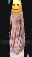 A-Line Scoop Neck Floor-Length Chiffon Lace Mother of the Bride Dress With Sequins (008195372)