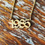 Custom 18k Gold Plated Name Necklace - Birthday Gifts Mother's Day Gifts (288211343)