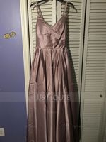 Satin Prom Dresses With Ruffle Pockets (272196773)