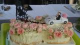 """Personalized Bride And Groom/""""Mr. & Mrs.""""/Happy Couple Acrylic Cake Topper (118251123)"""