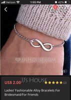 Ladies' Fashionable Alloy Bracelets For Bridesmaid/For Friends (011070807)