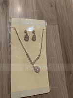 Gorgeous Copper With Rhinestone/Cubic Zirconia Ladies' Jewelry Sets (011146994)