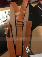 Personalized Classic PU Suspenders (200210903)