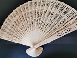 Bride Gifts - Personalized Elegant Wooden Hand Fan (255176332)