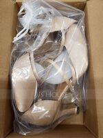Women's Satin Heels Ballroom Dance Shoes (053151567)
