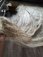 One-tier Cut Edge Cathedral Bridal Veils With Lace (006190574)