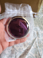Personalized Round Stainless Steel/Chrome Compact Mirror (Sold in a single piece) (118120906)