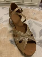 Women's Leatherette Latin Dance Shoes (053137758)