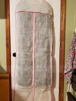 Simple/Breathable Gown Length Garment Bags (035024113)