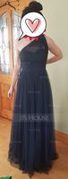 A-Line/Princess One-Shoulder Floor-Length Tulle Bridesmaid Dress With Ruffle (266177002)