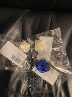 Romantic Satin Boutonniere (Sold in a single piece) - (123182802)