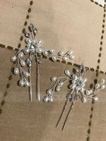 Ladies Gorgeous Alloy Hairpins With Venetian Pearl (Sold in single piece) (042156417)