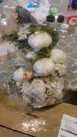 Cascade Silk/Cloth Bridal Bouquets - (123201751)